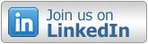 linkedin button follow us